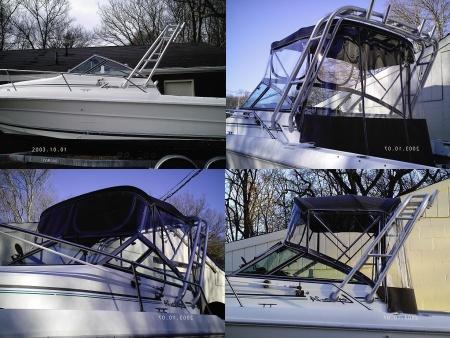 Custom Boat Top